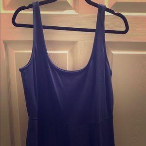 City Chic Royal Blue Midi Dress (16) NWT 💙